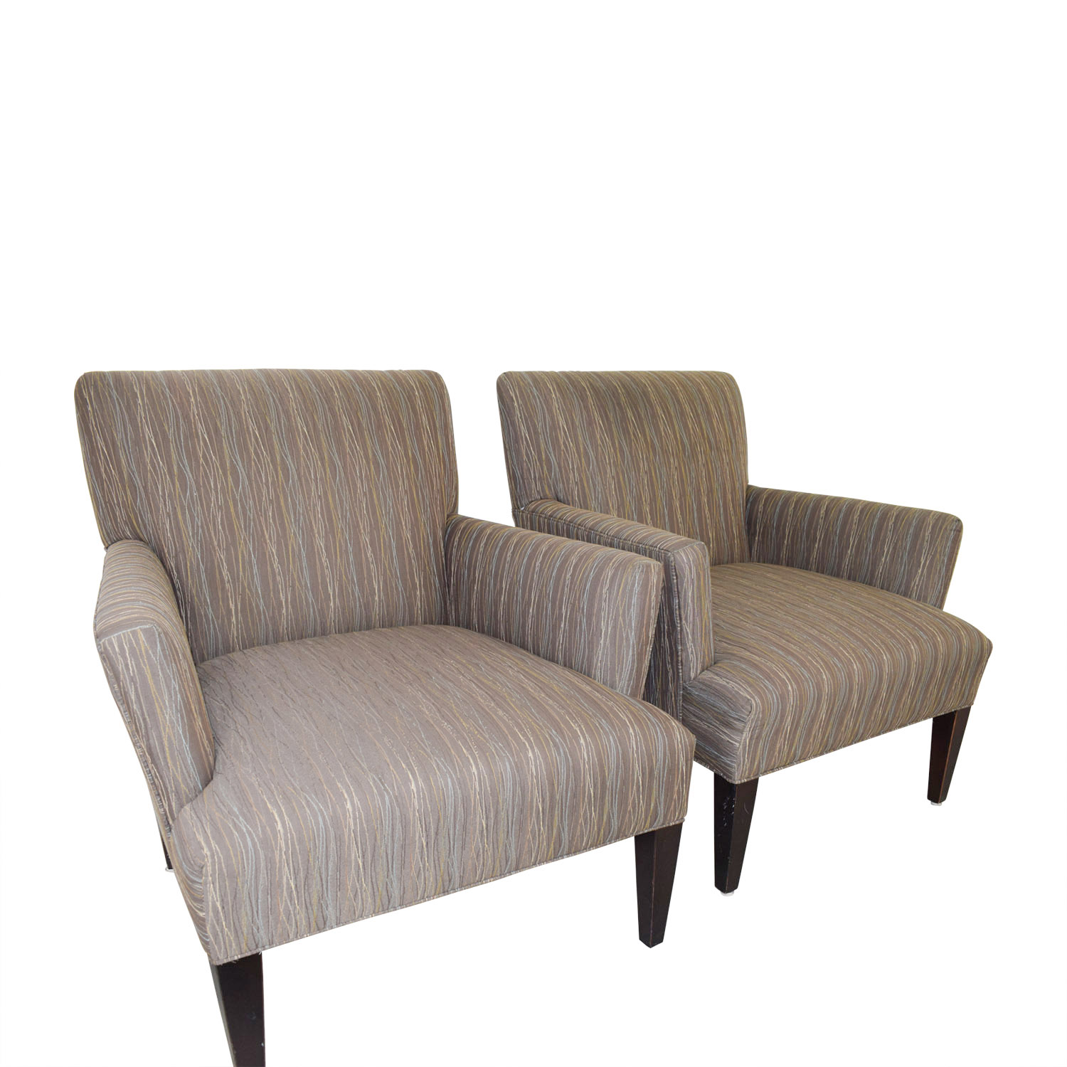 Room & Board Room & Board Multi-Colored Patterned Armchairs on sale
