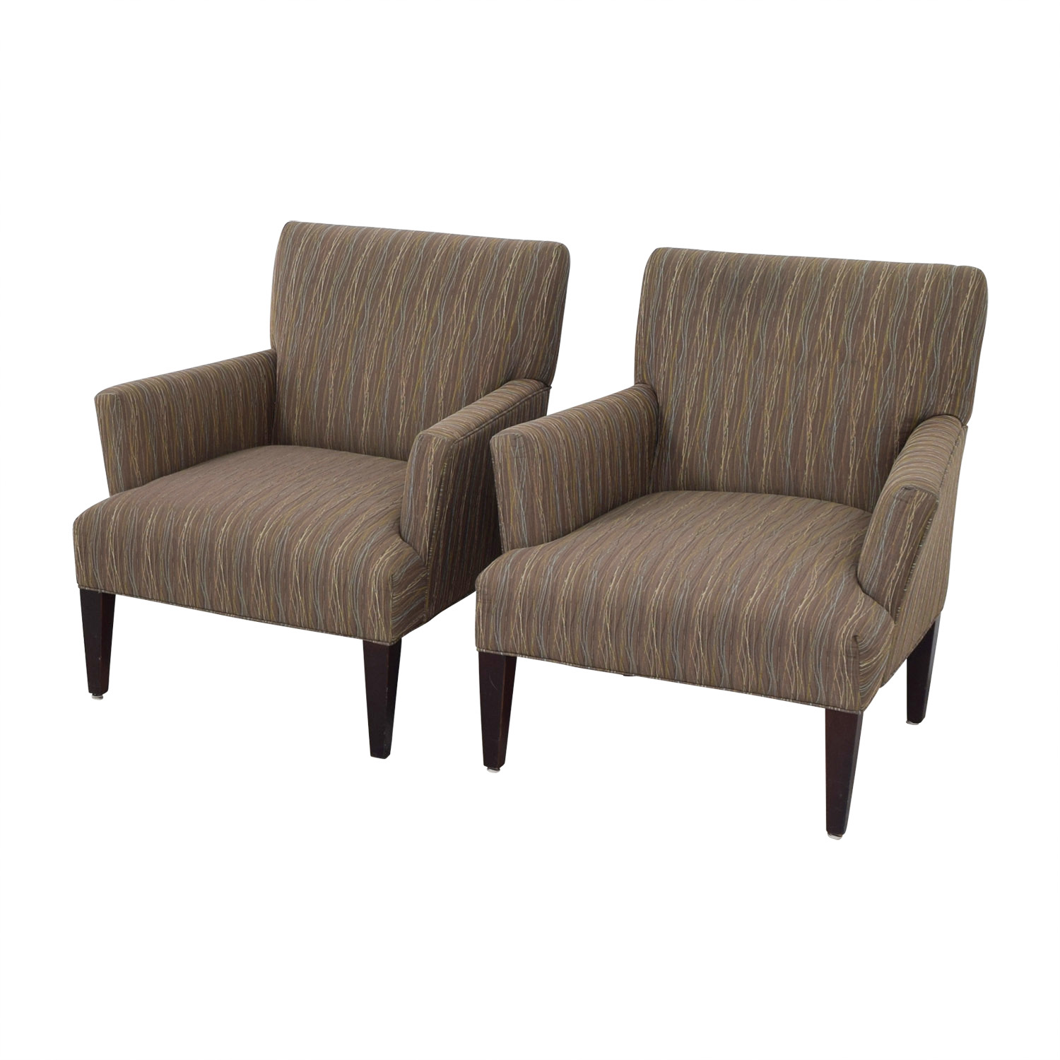 Room & Board Room & Board Multi-Colored Patterned Armchairs price