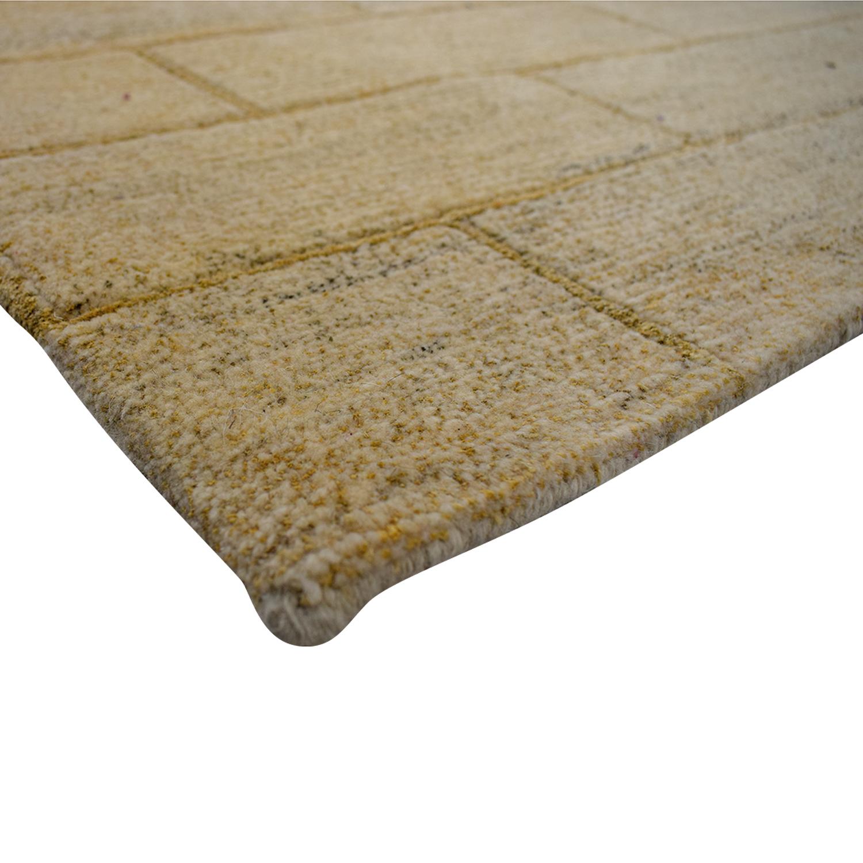 ABC Home & Carpet Handmade Metro Beige Rug ABC Home & Carpet