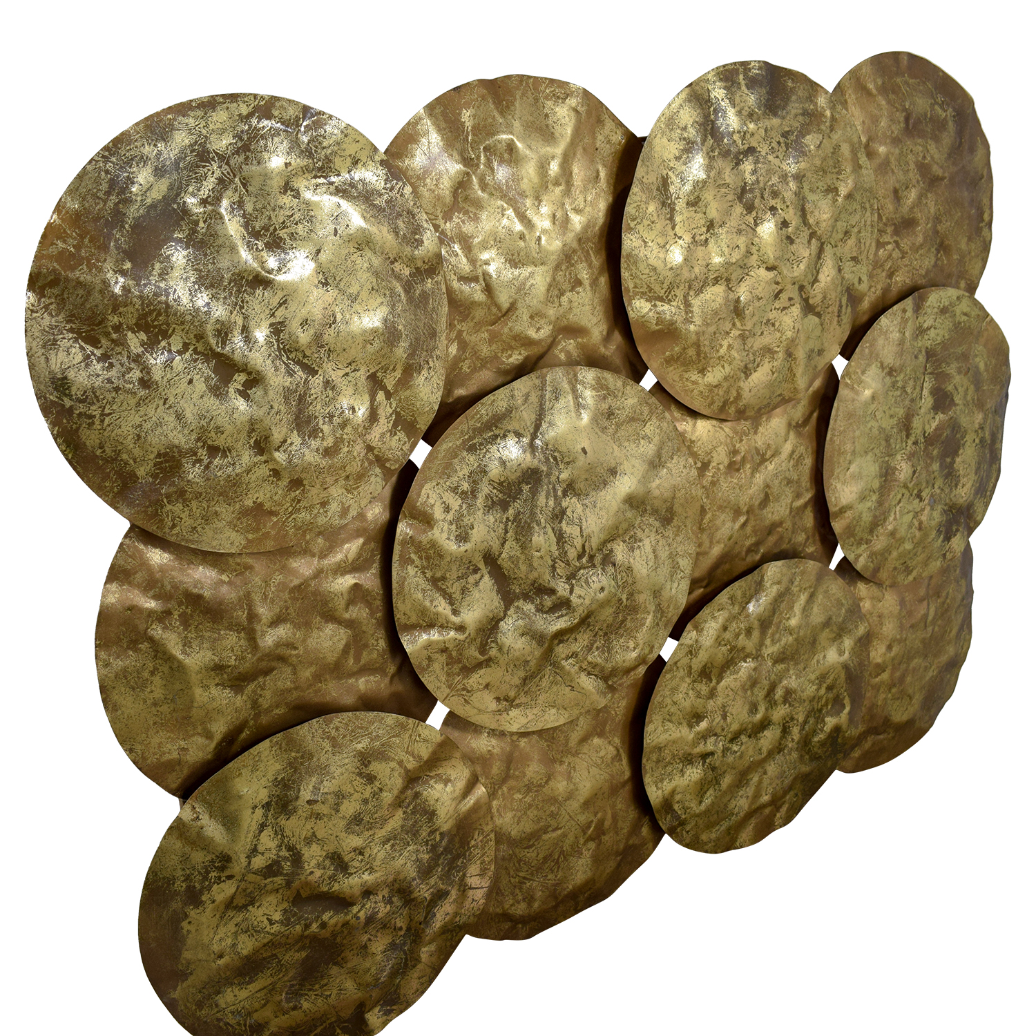 shop Gold Disks Wall Collage
