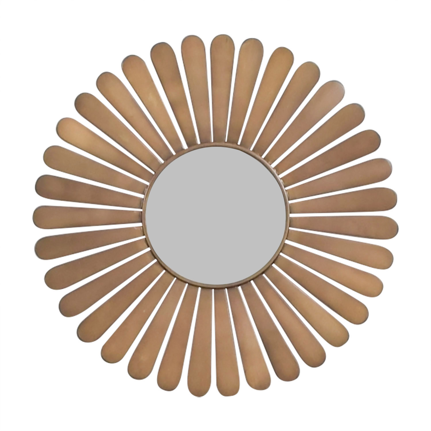 shop The Land of Nod The Land of Nod Sunburst Bronze Wall Mirror online