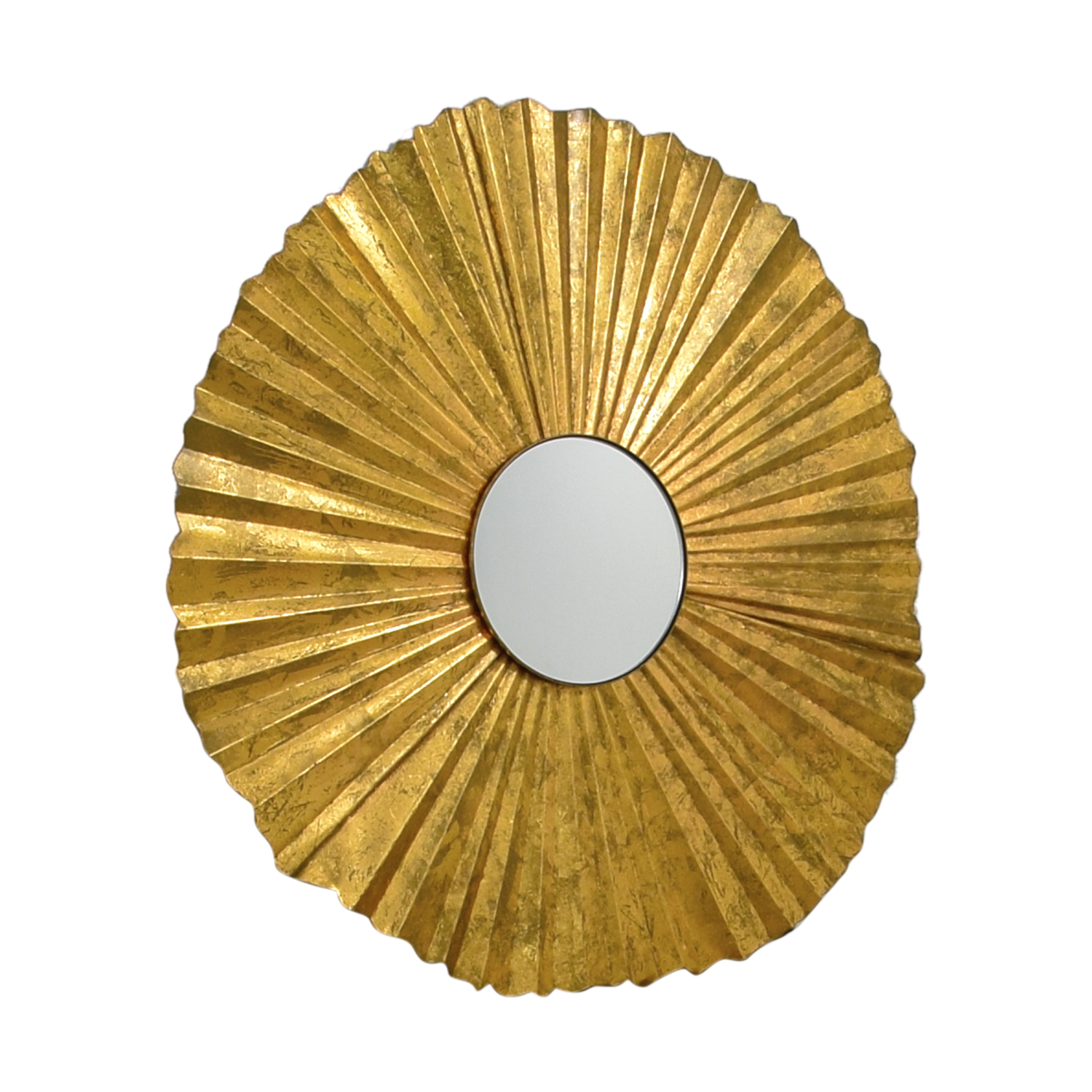 Gold Fan Mirror second hand