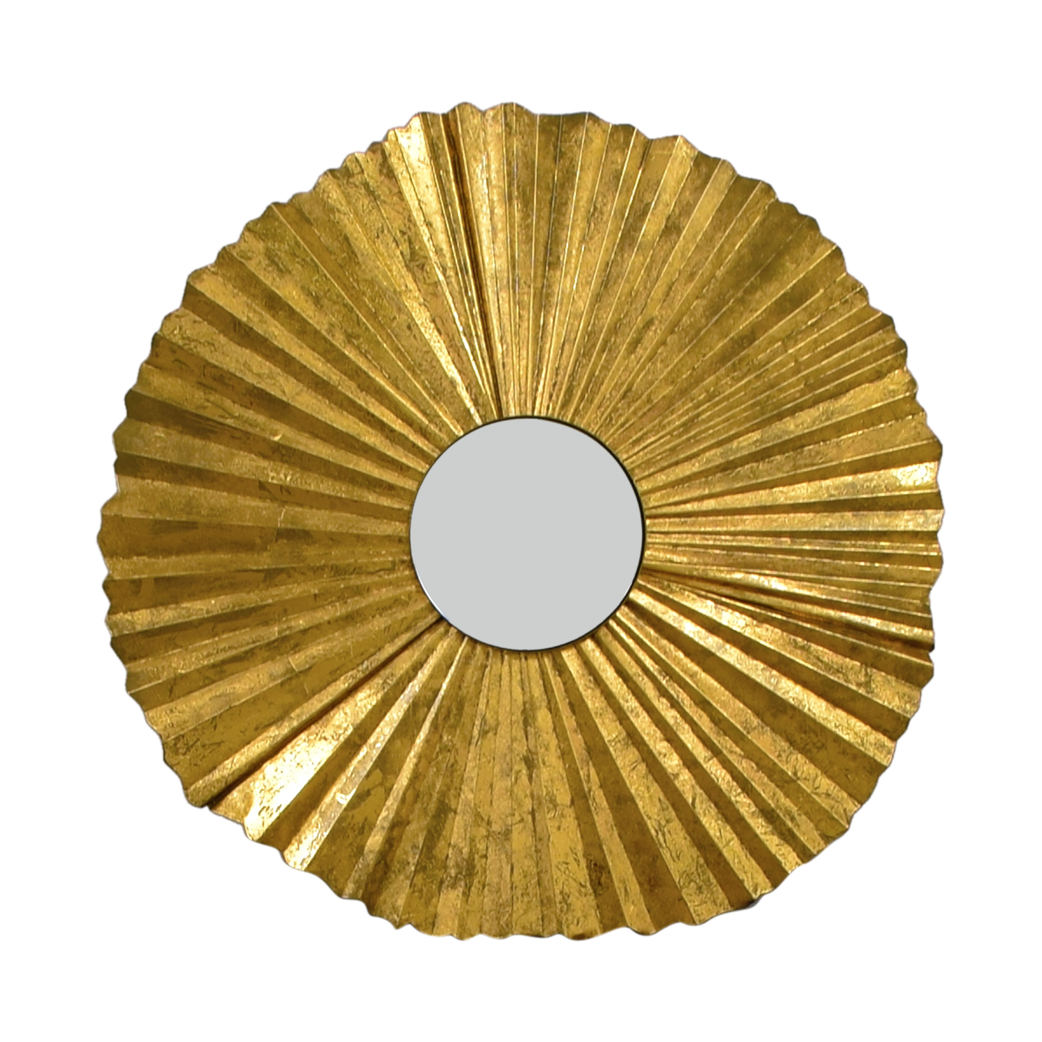 Gold Fan Mirror on sale