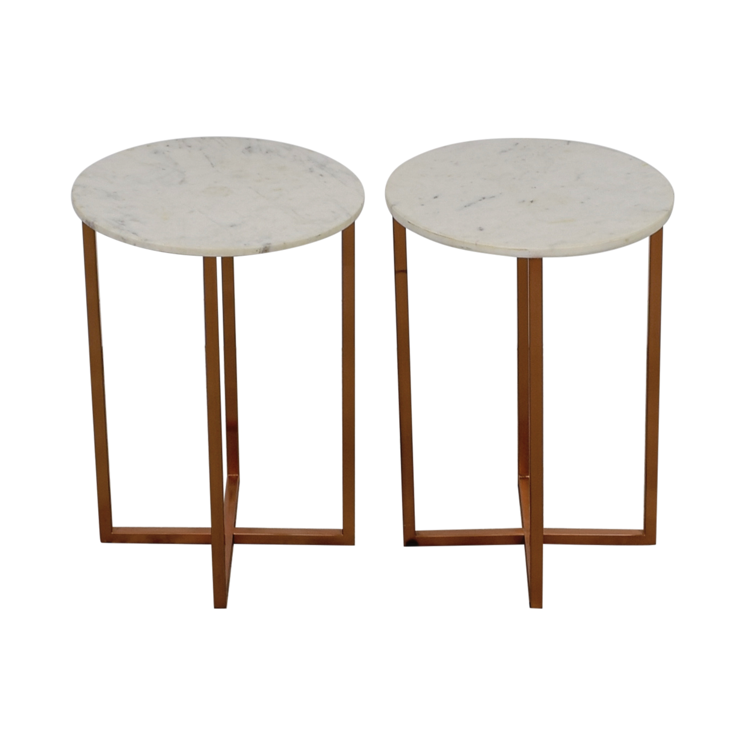 OFF Marble Top Copper Accent Tables Tables - Copper top accent table