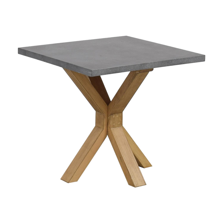 Aberdeen Beech Grey Table Hand  Tables