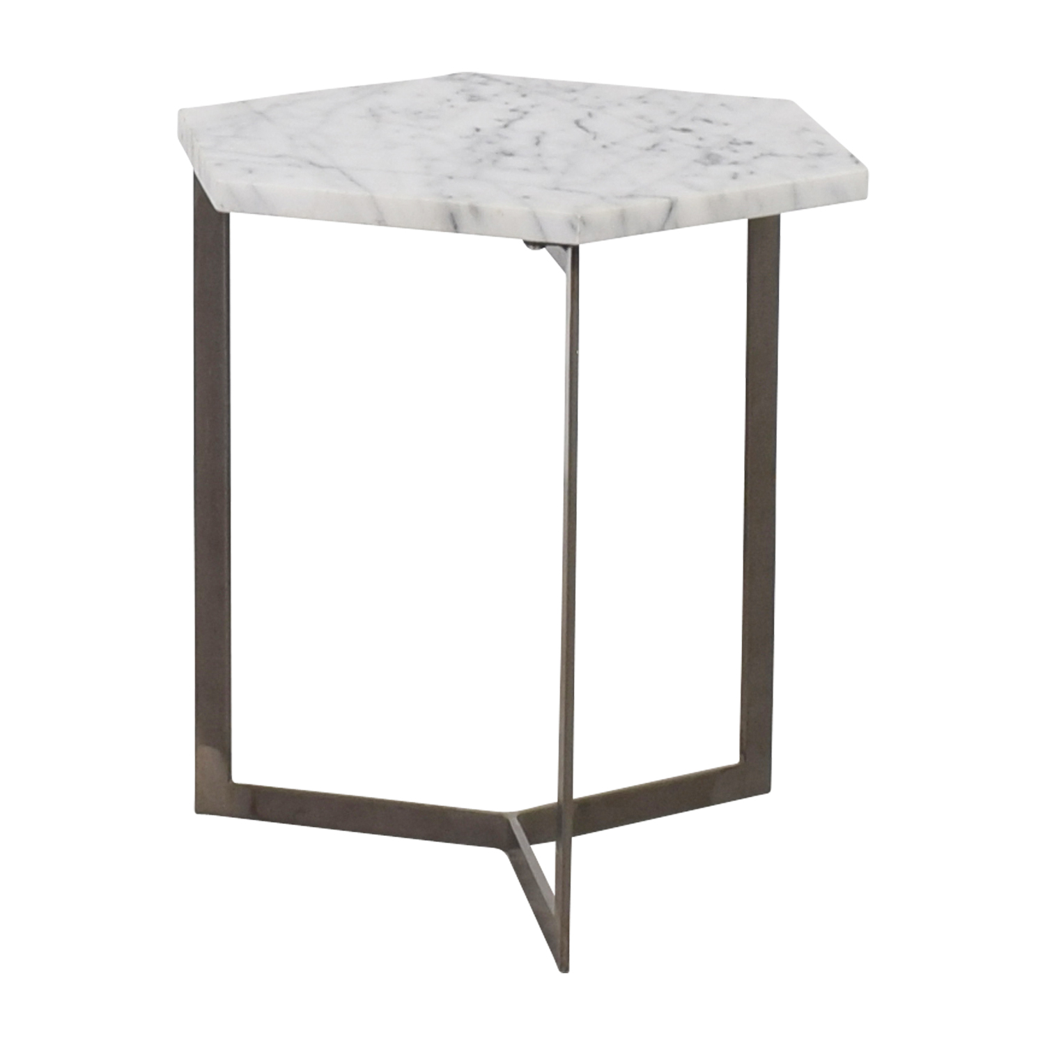 OFF Marble Hexagonal Side Table Tables - Hexagon marble coffee table
