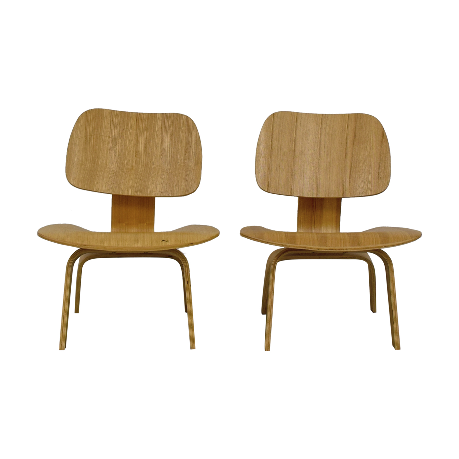 buy Natural Molded Plywood Chairs  Dining Chairs