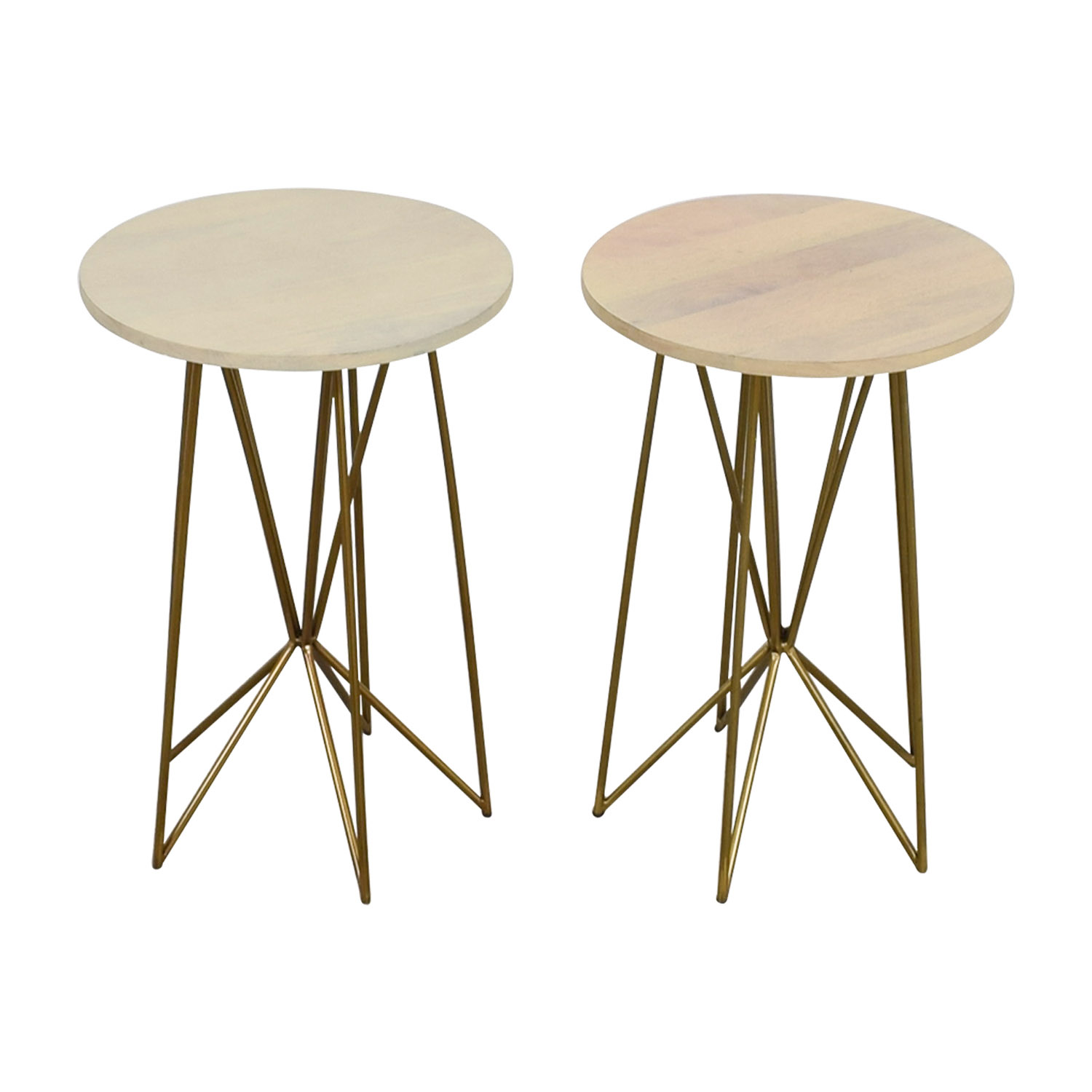 Butterfly Gold Base Metal Wire Tables discount