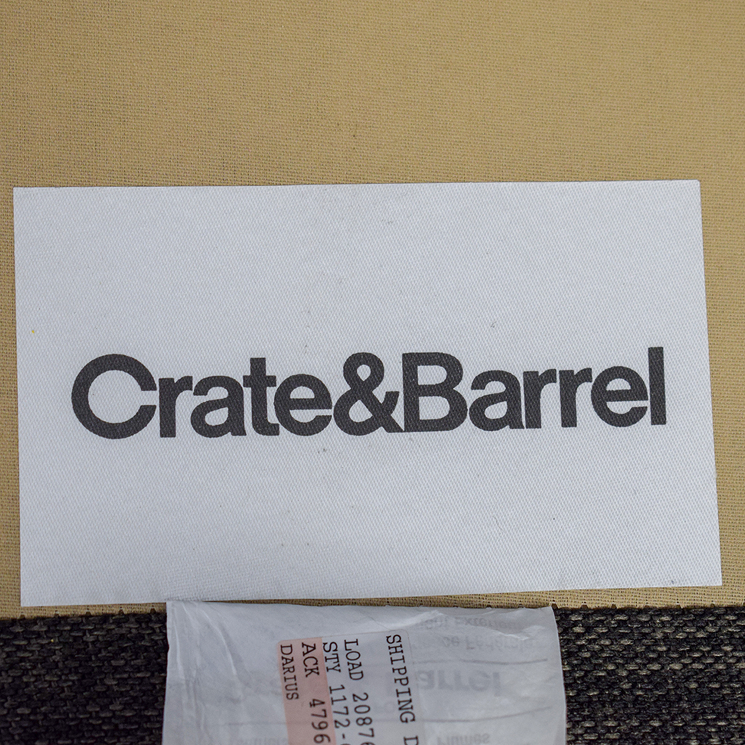 buy Crate & Barrel Davis Sectional Crate & Barrel