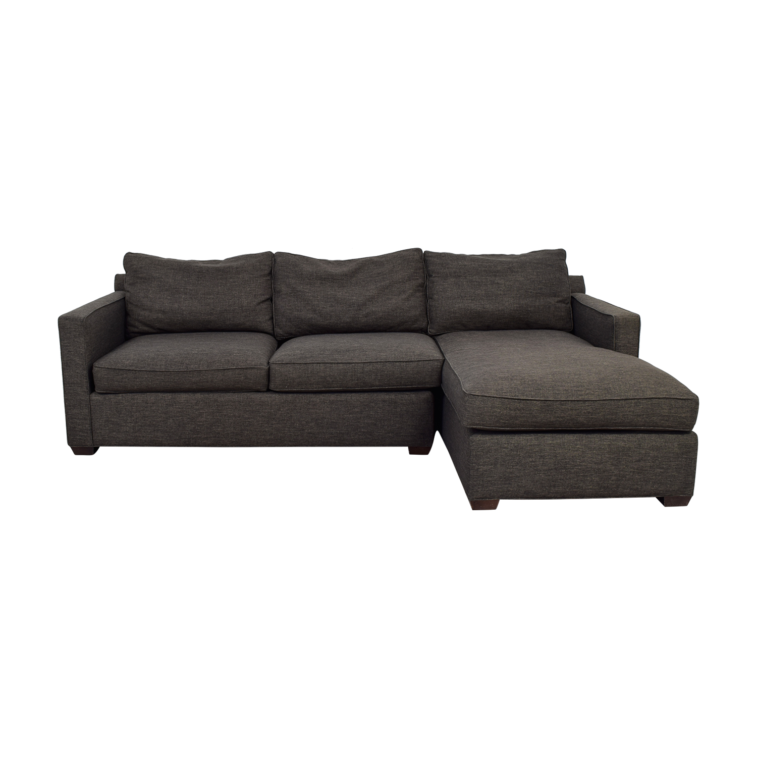 Crate & Barrel Crate & Barrel Davis Sectional on sale
