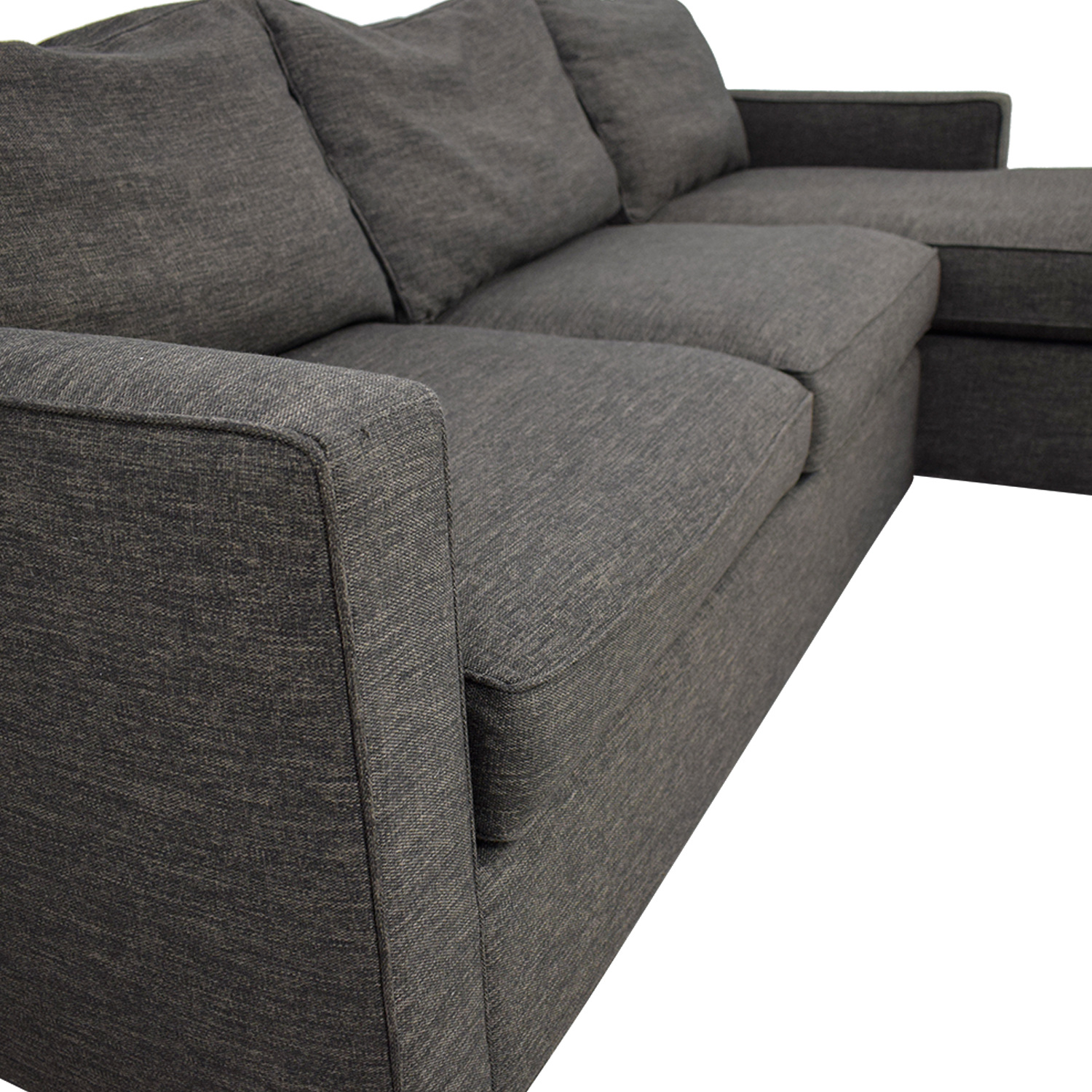 Brilliant 72 Off Crate Barrel Crate Barrel Davis Sectional Sofas Gmtry Best Dining Table And Chair Ideas Images Gmtryco