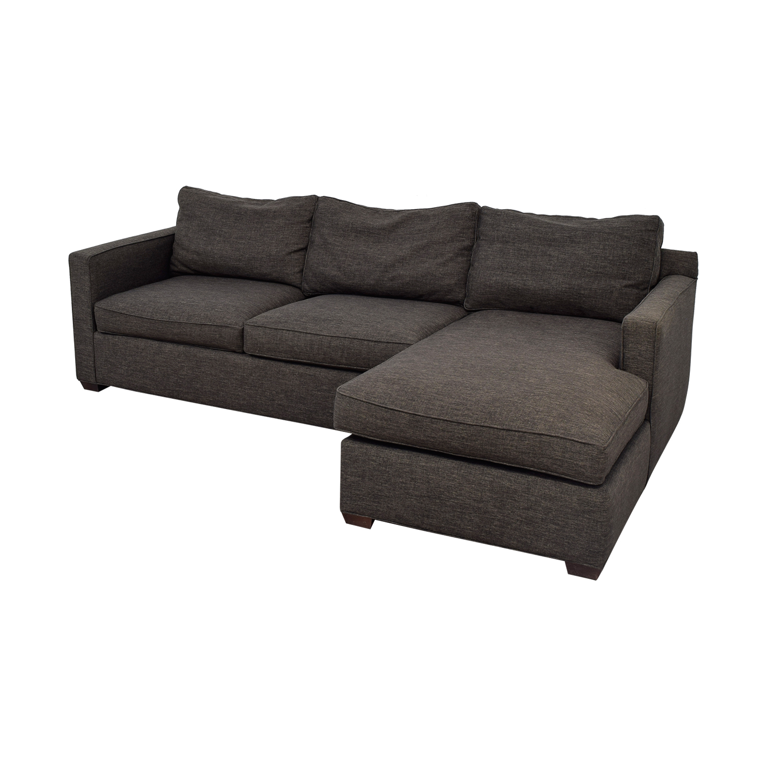 Crate & Barrel Crate & Barrel Davis Sectional used