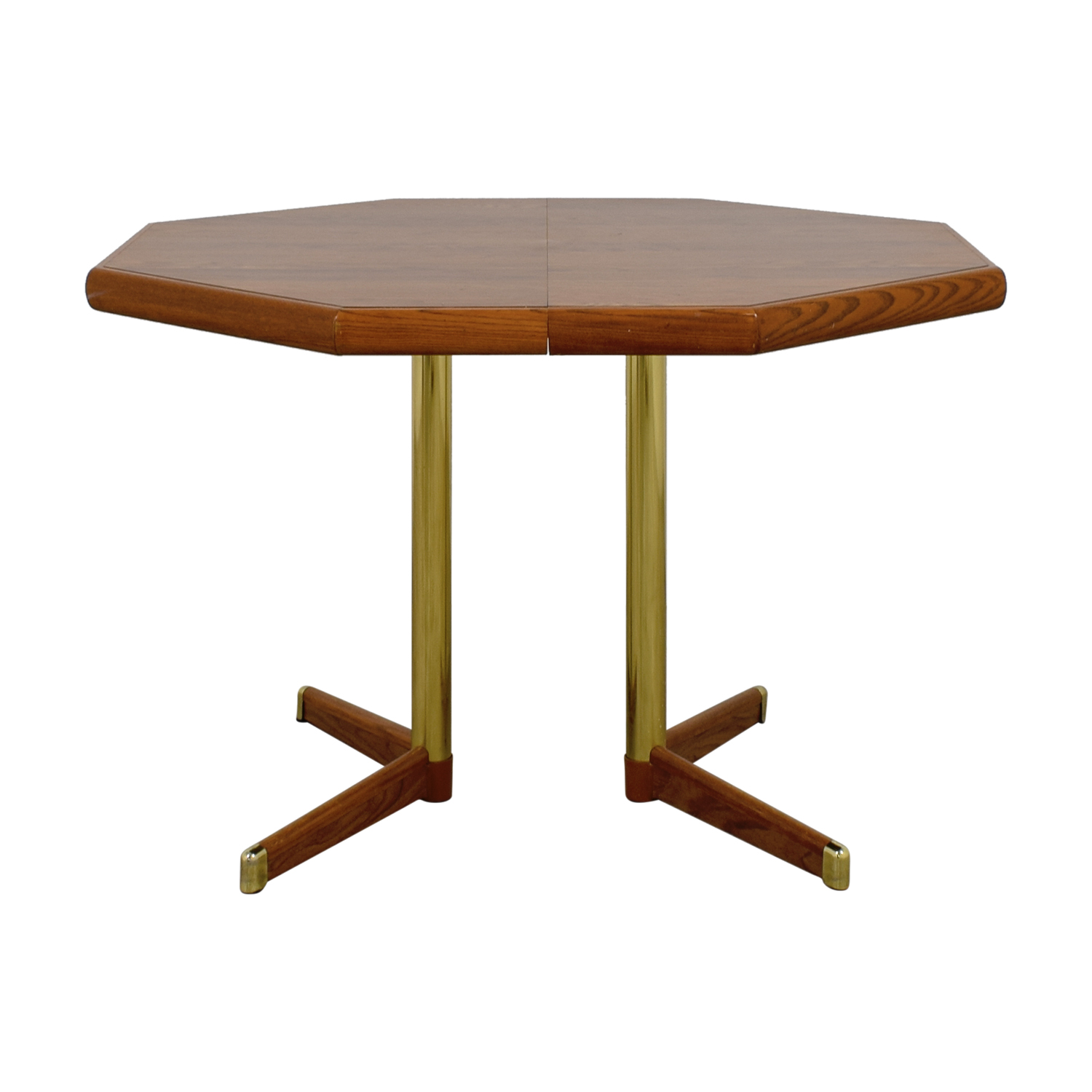 Octagon Kitchen Table with Leaf