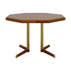 Octagon Kitchen Table with Leaf nj