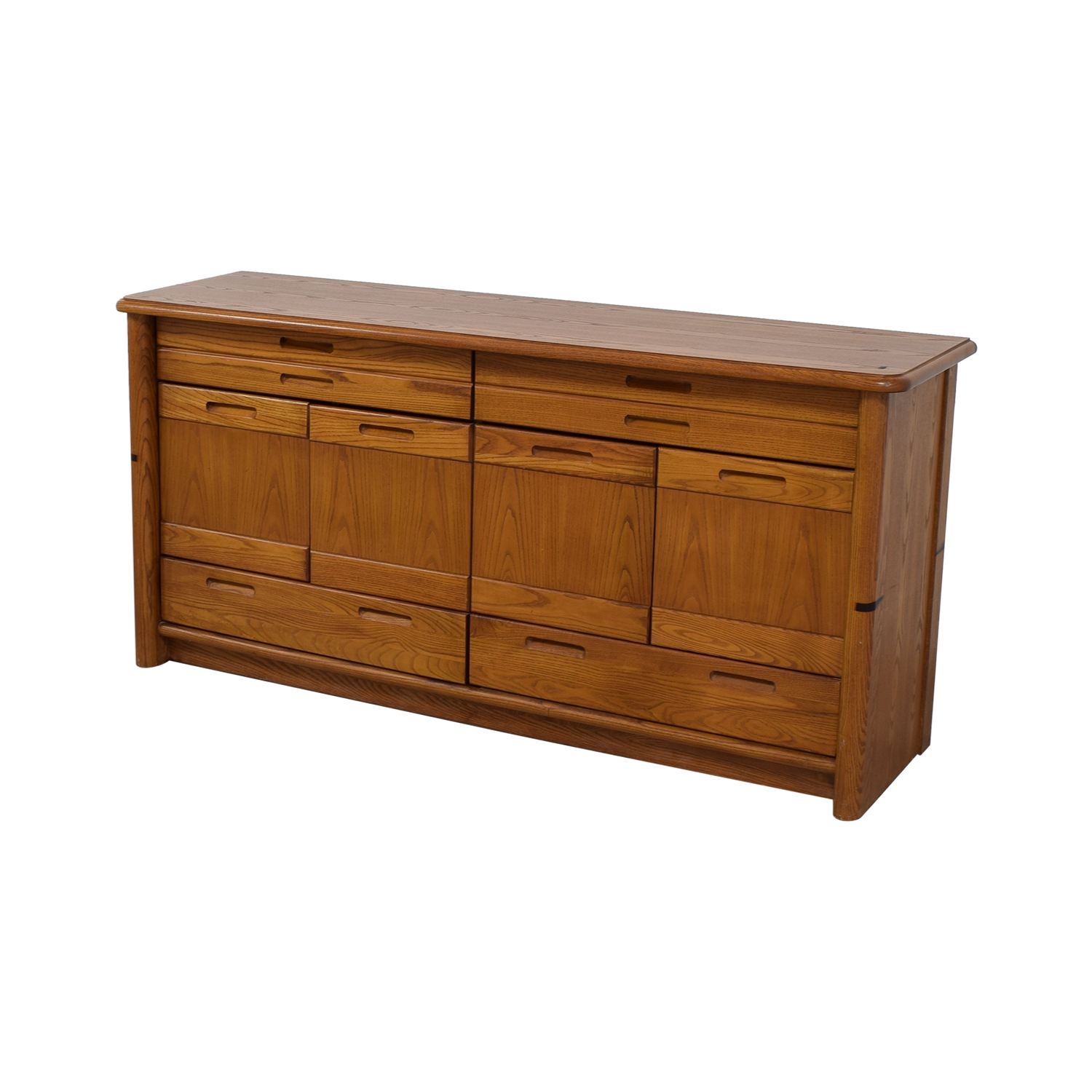 shop Thomasville Wood Buffet Cabinet Thomasville Storage