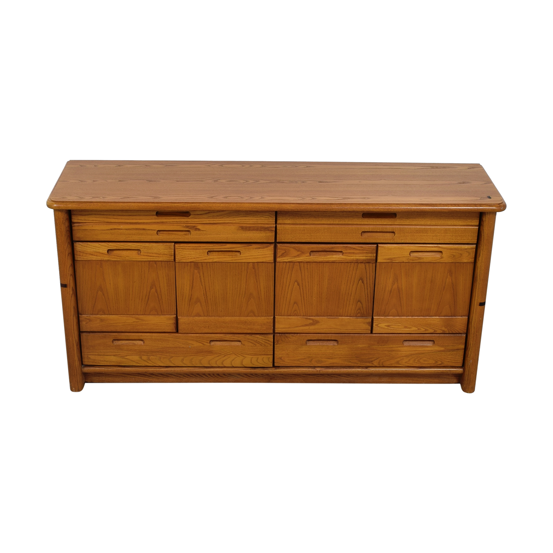 Thomasville Wood Buffet Cabinet On