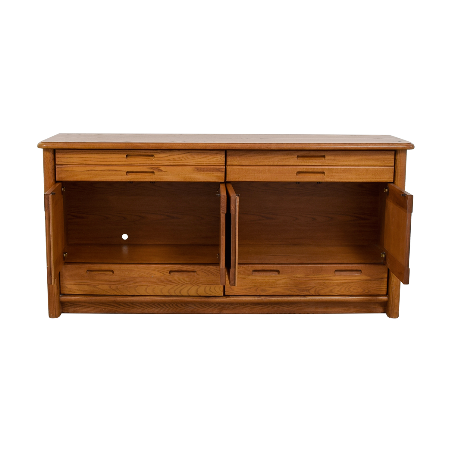 Thomasville Wood Buffet Cabinet Thomasville