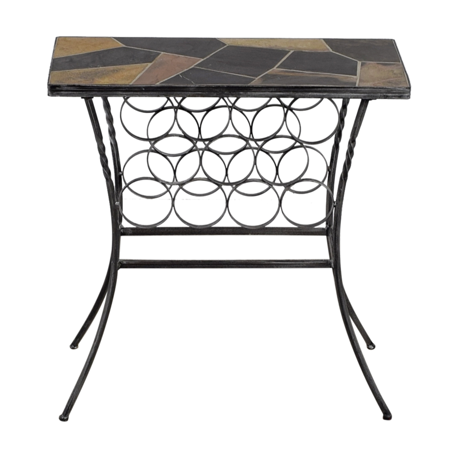 shop  Wine Rack Table with Stone Top online