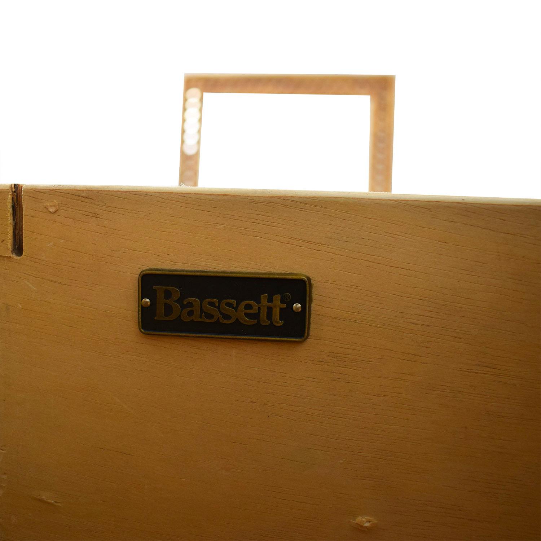 buy Bassett Large Executive Espresso Desk Bassett