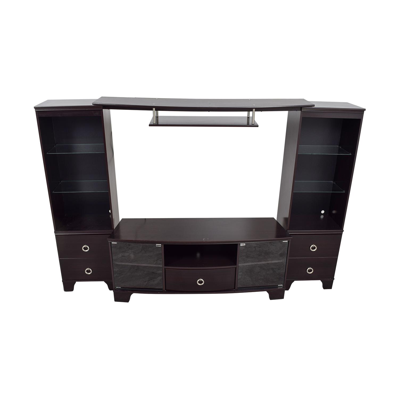 Ashley Furniture Ashley Furniture Espresso Entertainment Center on sale