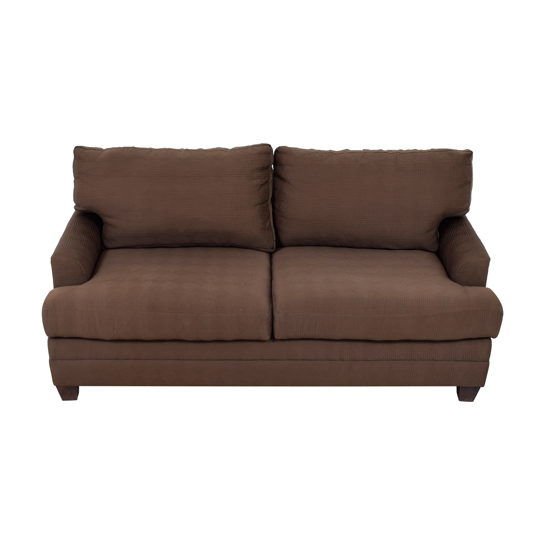 Bassett Bassett Chocolate Couch nyc