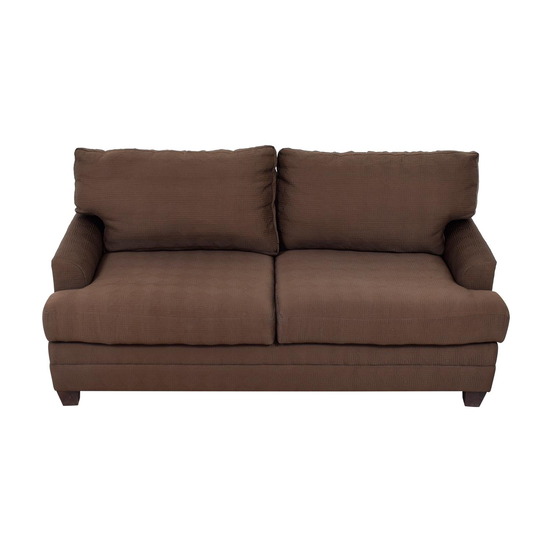 Bassett Chocolate Couch / Loveseats