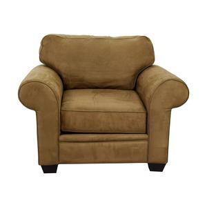 Macy's Macy's Tan Oversized Armchair on sale