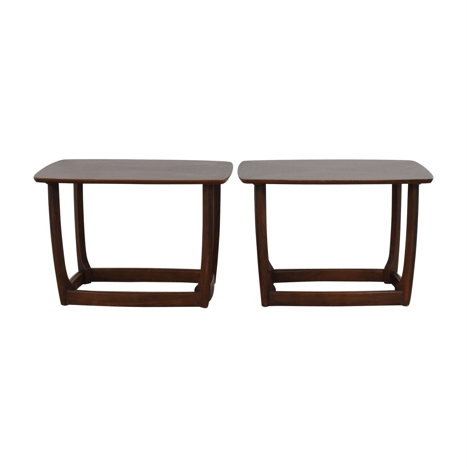 Mid-Century Modern End Table dimensions