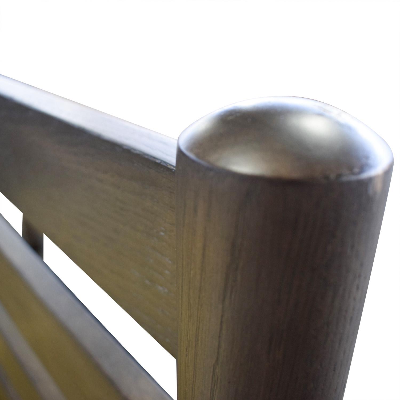buy Crate & Barrel Barnes Platform King Bed Frame Crate & Barrel Bed Frames