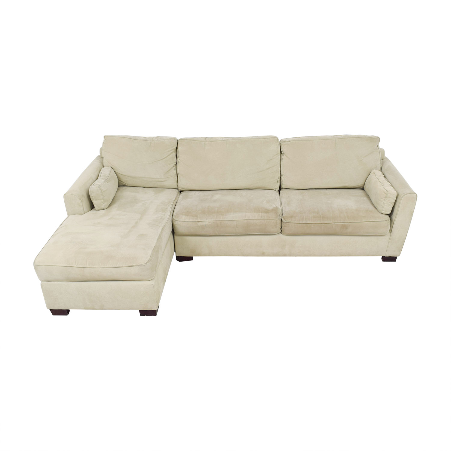 Bloomingdale's Bloomingdale's Beige Chaise Sectional