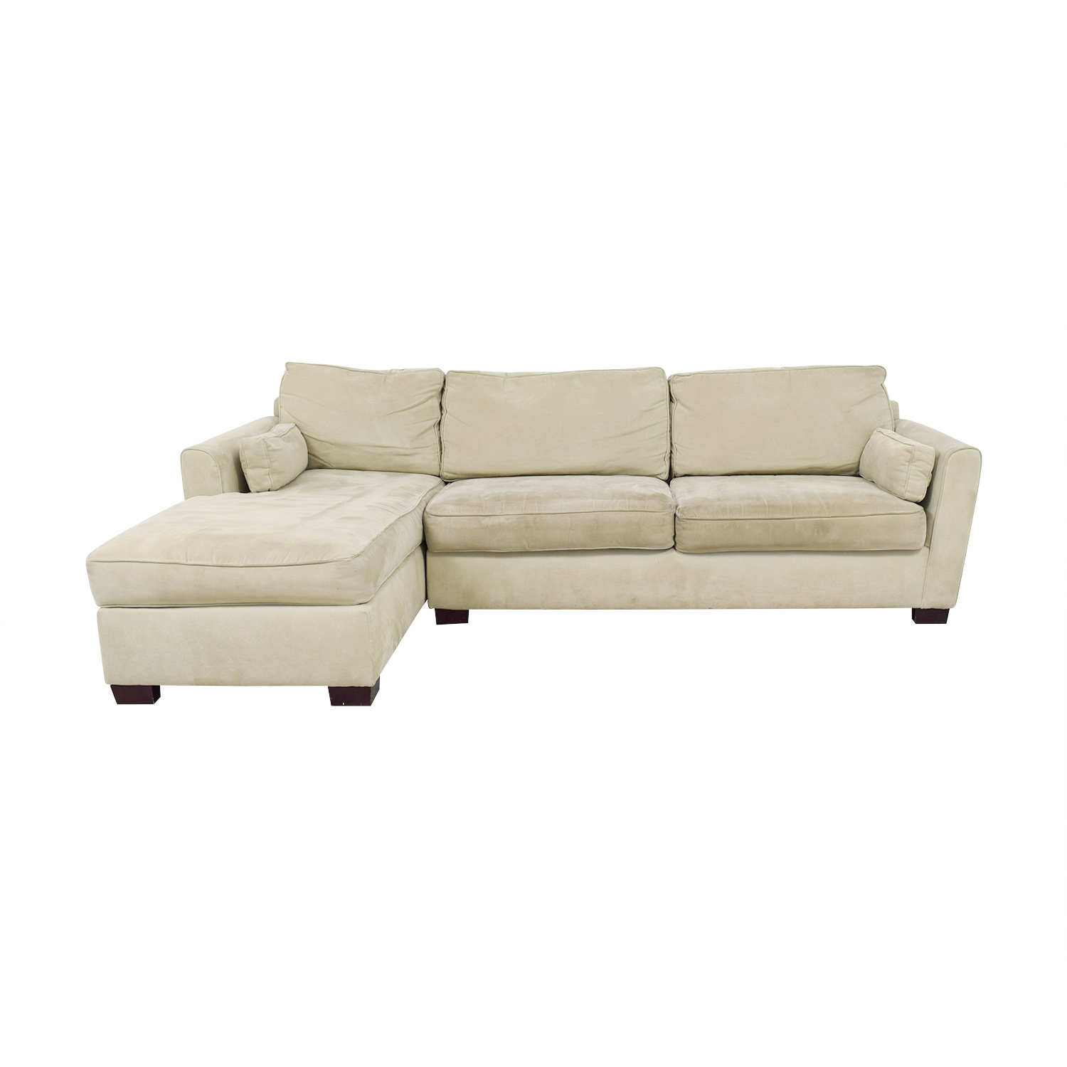 shop Bloomingdale's Bloomingdale's Beige Chaise Sectional online
