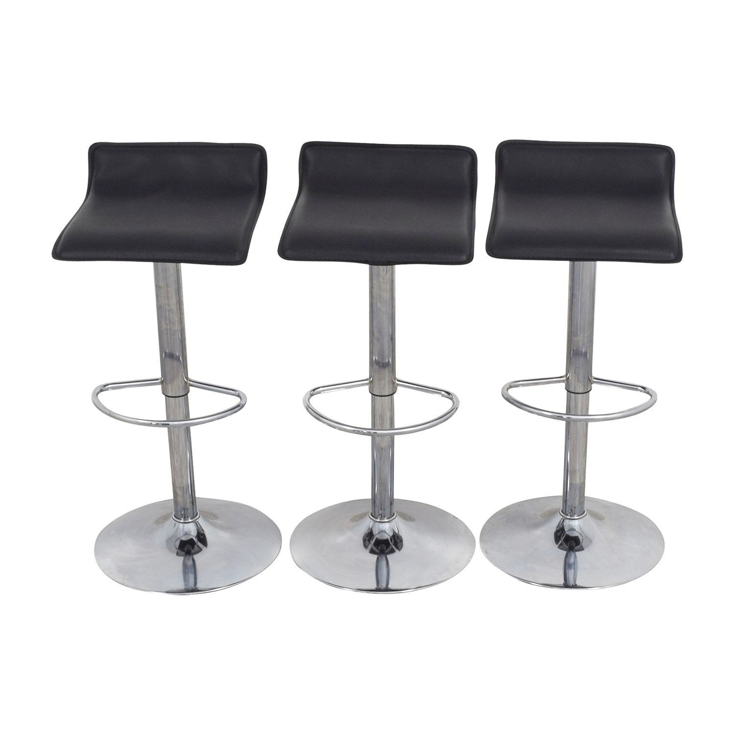 Target Bar Stools ~ Off target black adjustable bar stools chairs