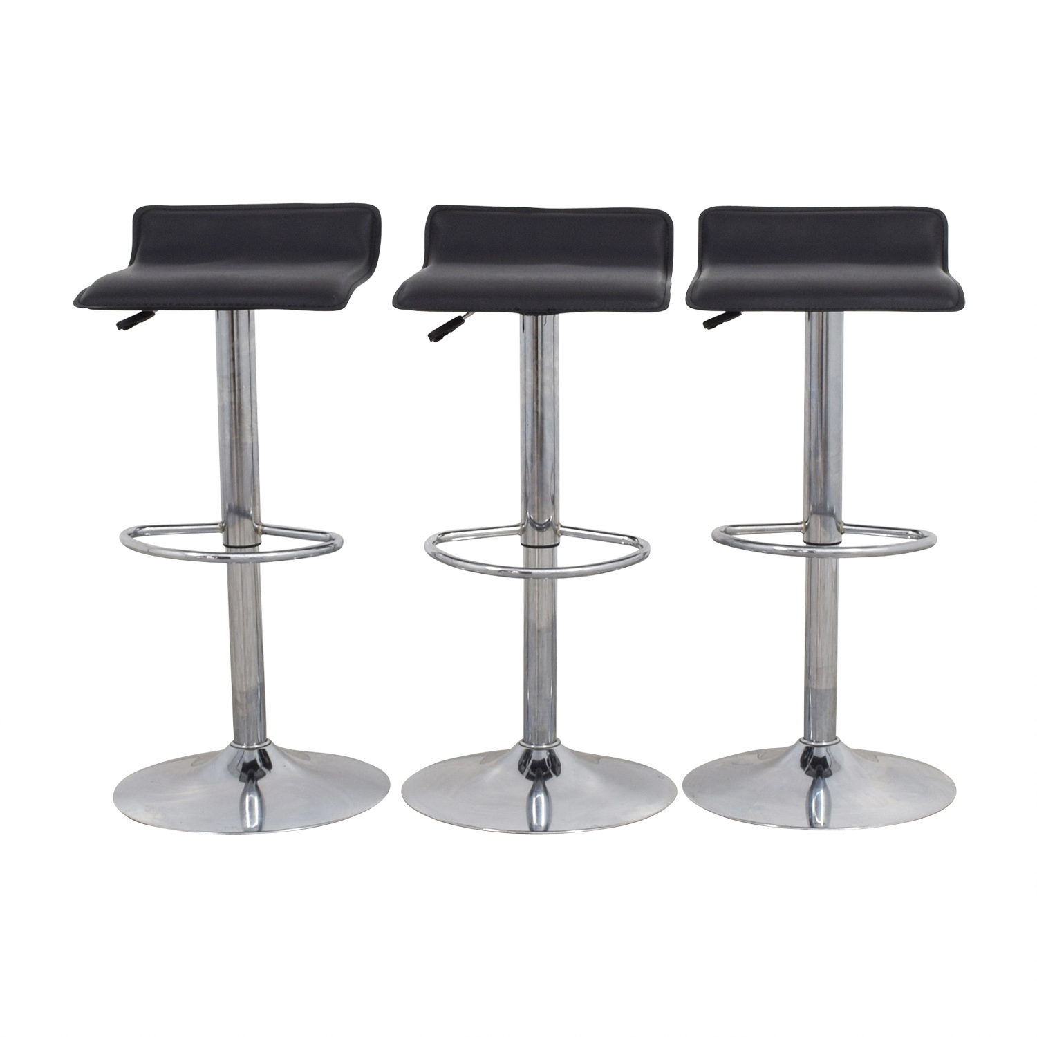 shop Target Target Black Adjustable Bar Stools online