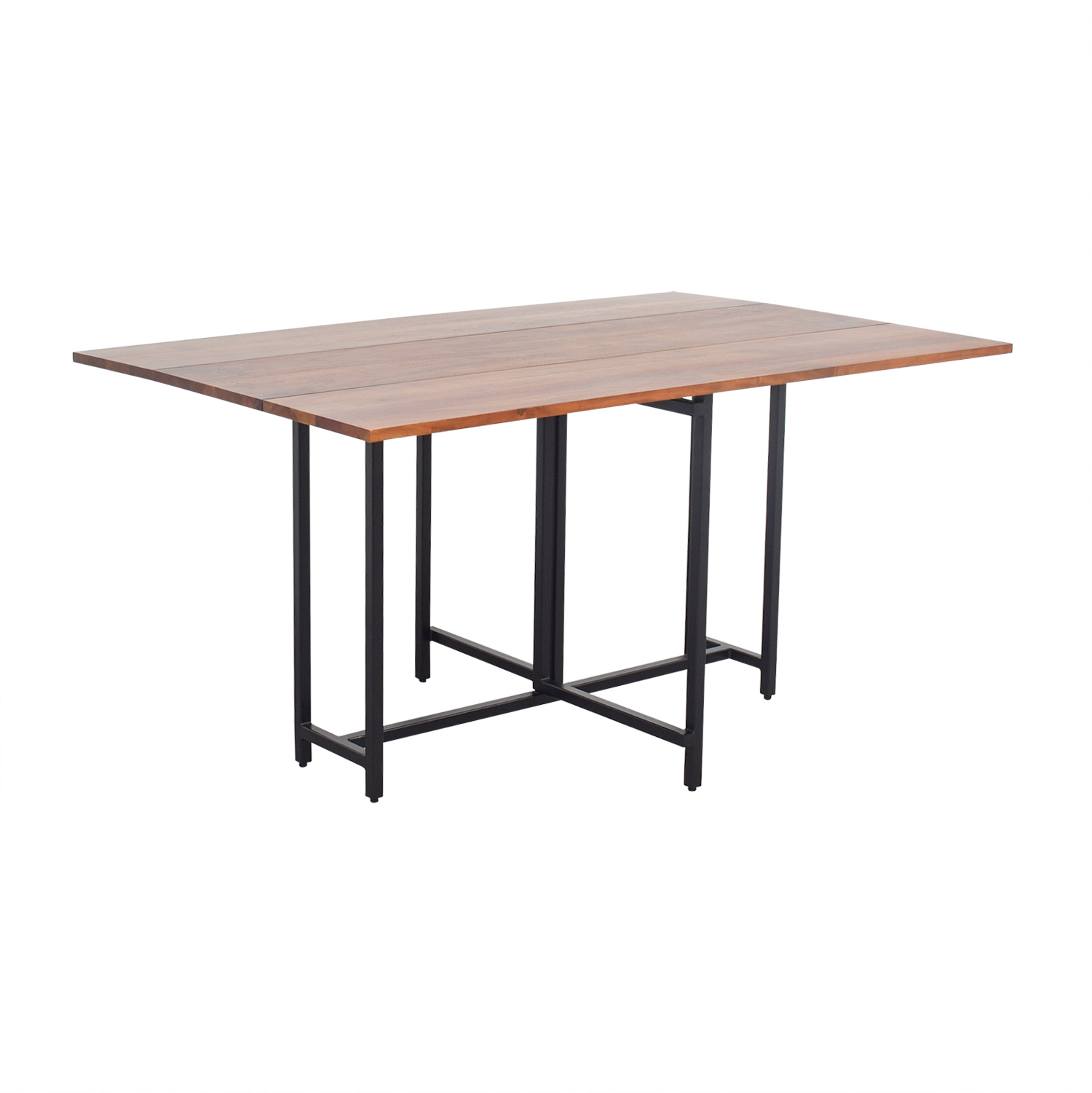 Crate & Barrel Crate & Barrel Origami Extendable Leaf Table for sale
