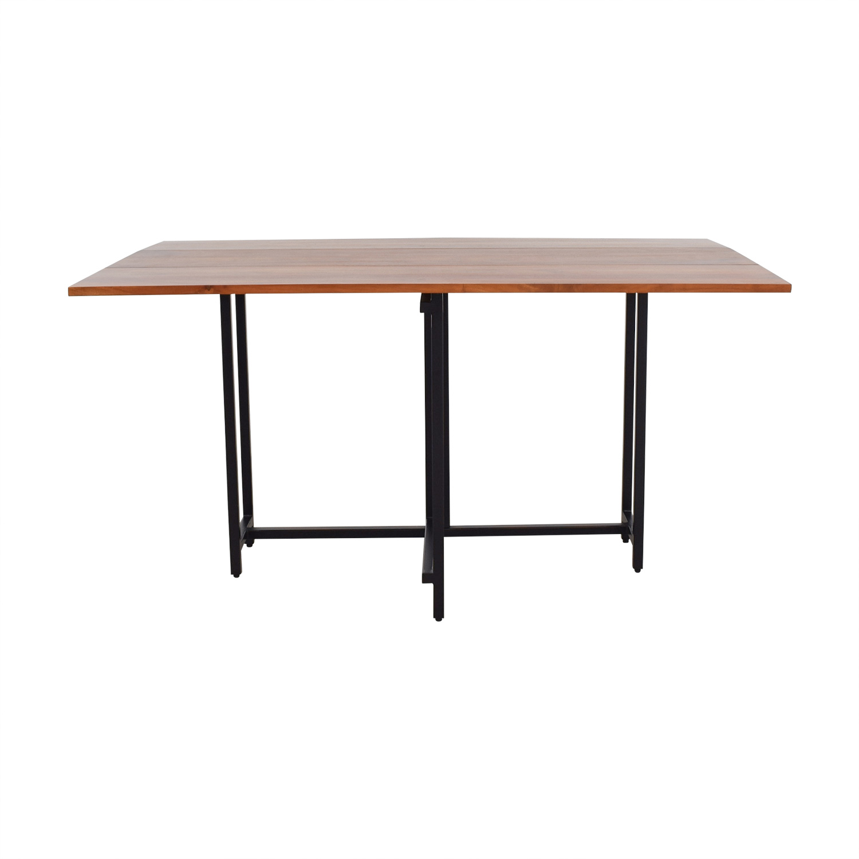 Crate & Barrel Crate & Barrel Origami Extendable Leaf Table Tables