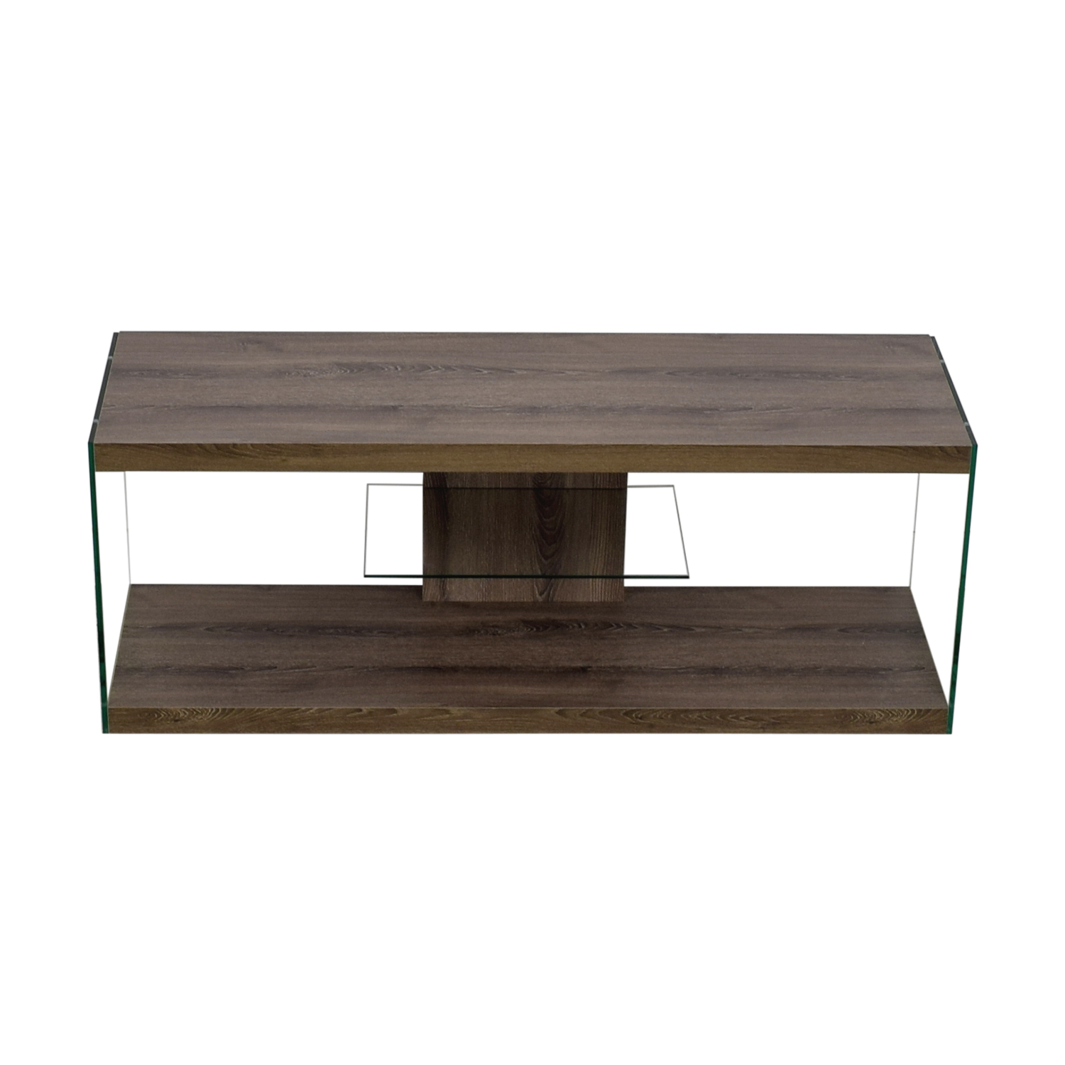 Monarch Specialties Monarch Specialties Wood and Metal TV Stand nyc