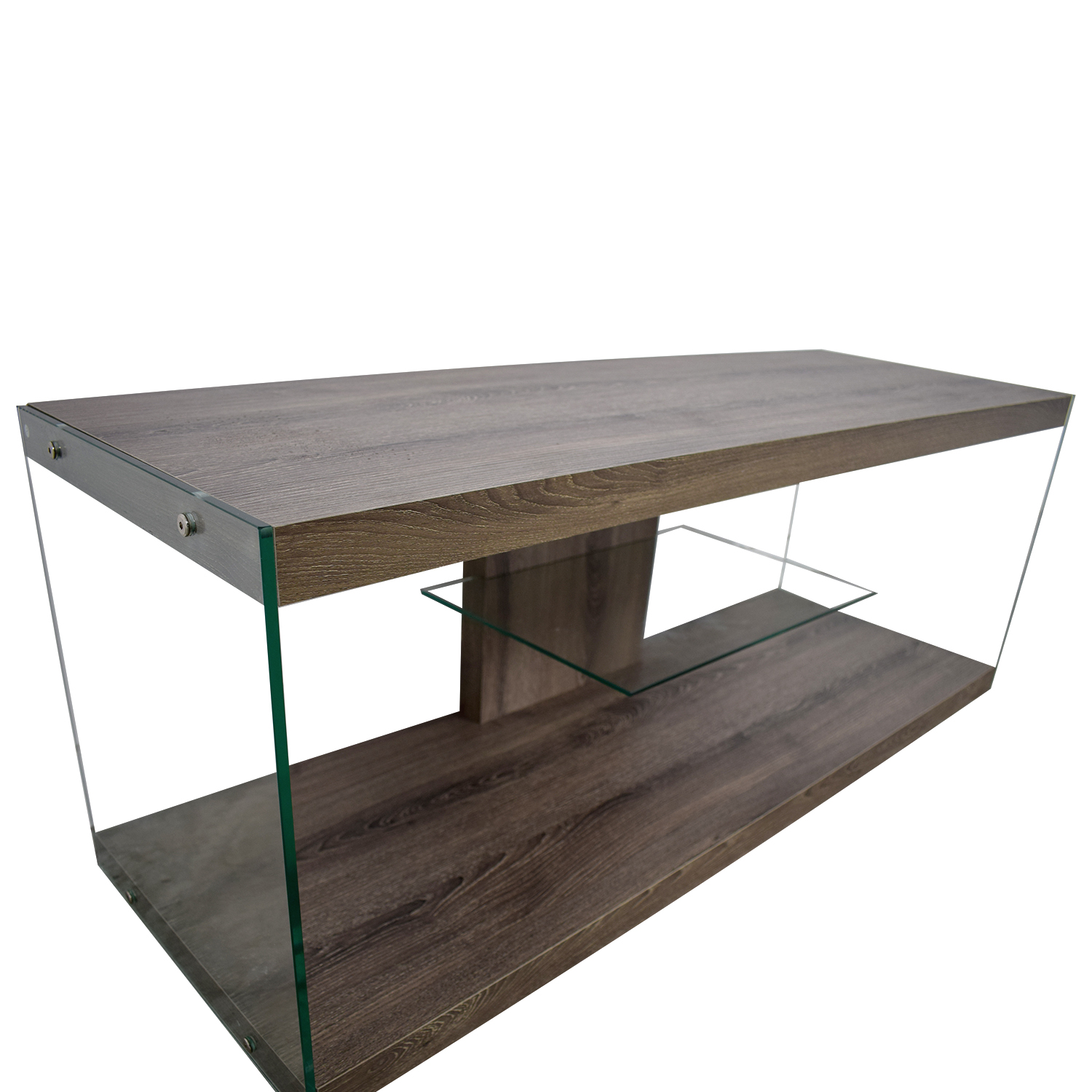 Monarch Specialties Monarch Specialties Wood and Metal TV Stand dimensions