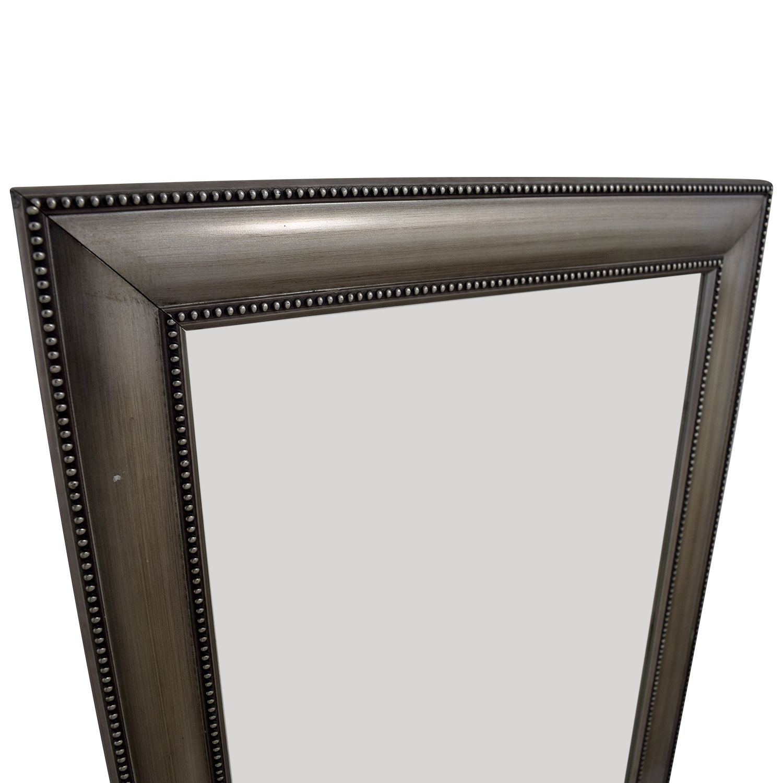 Silver Framed Mirror discount
