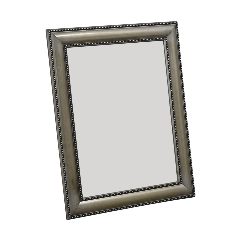 Silver Framed Mirror / Mirrors