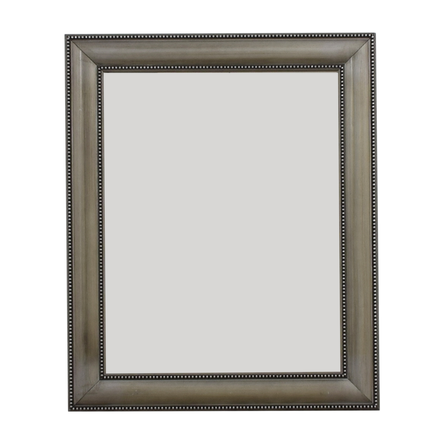 Silver Framed Mirror sale