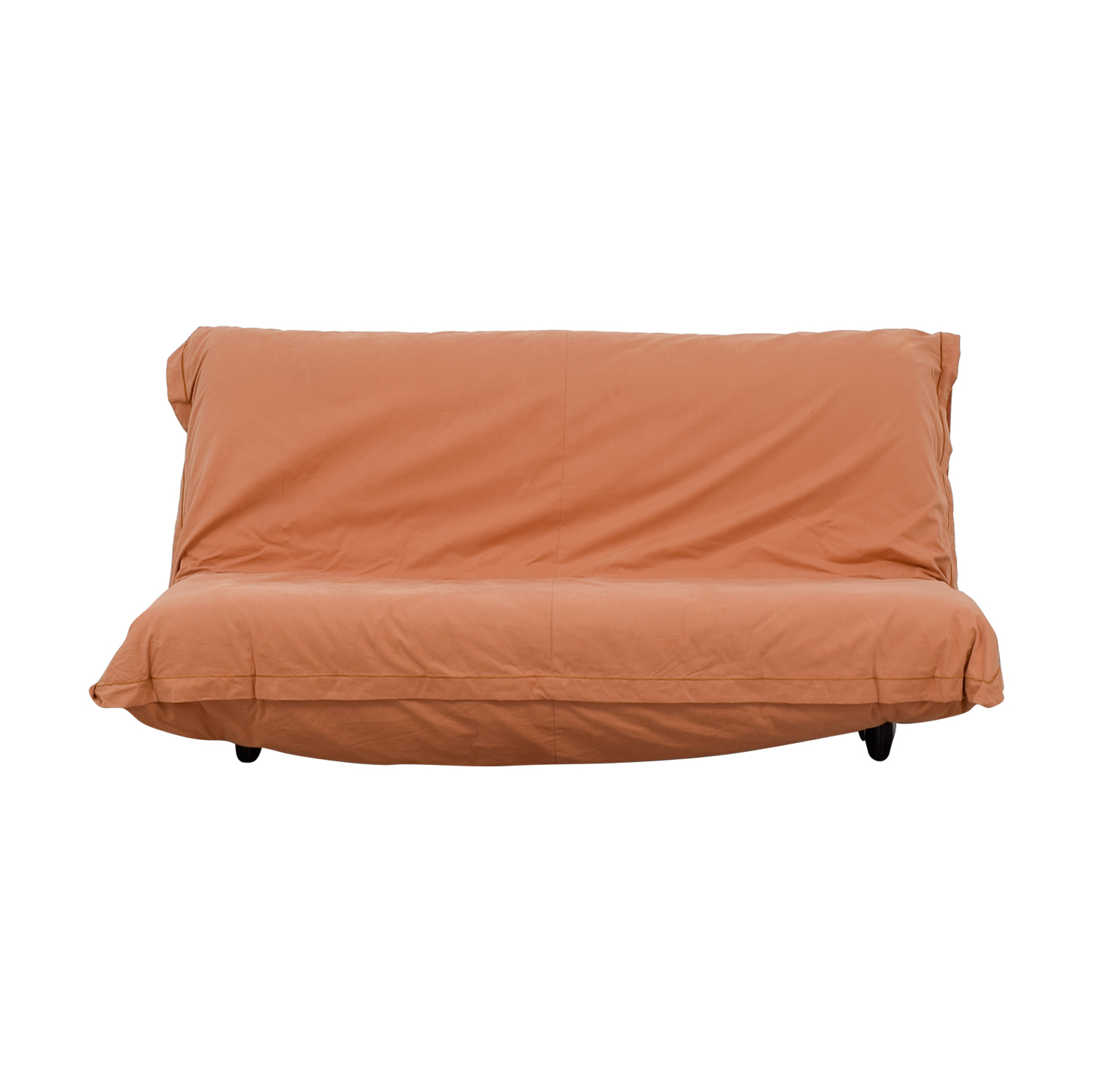 Ligne Roset Ligne Roset Calin Collection Queen Futon Bed black frame /orange cover