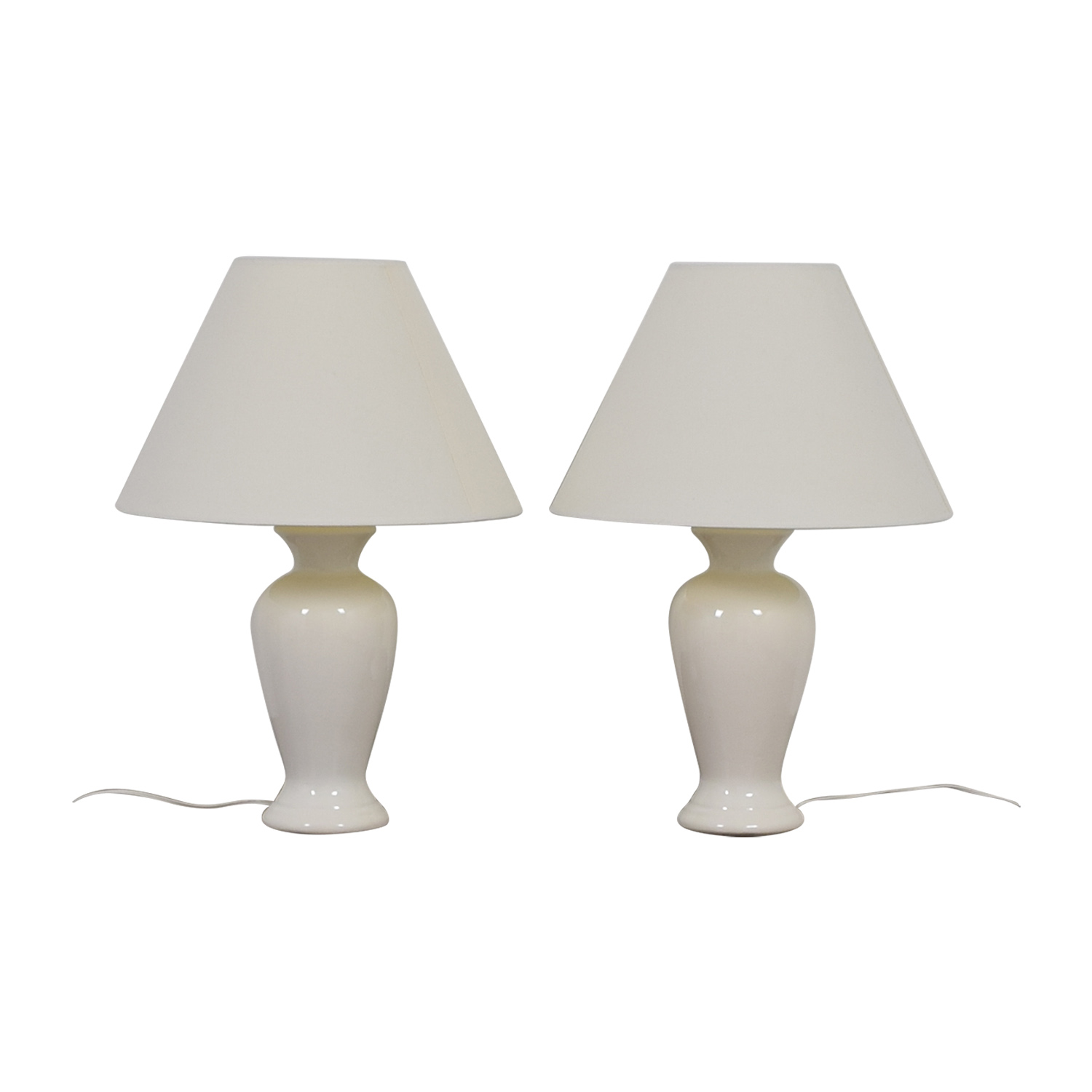 buy White Porcelain Lamps  Lamps
