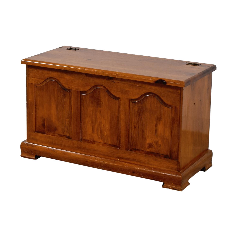 shop Vintage Wooden Chest  Storage