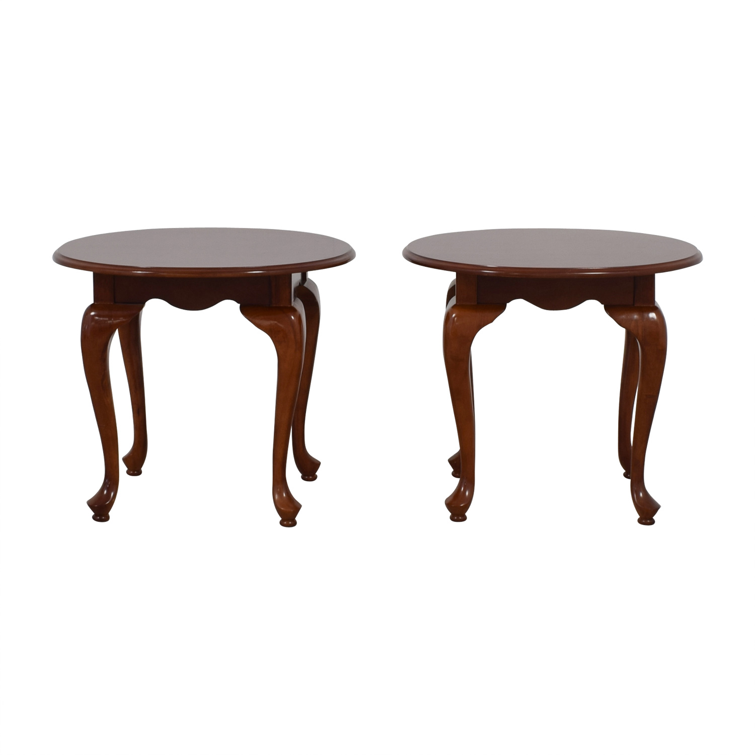 buy Oval Wood End Tables  Tables