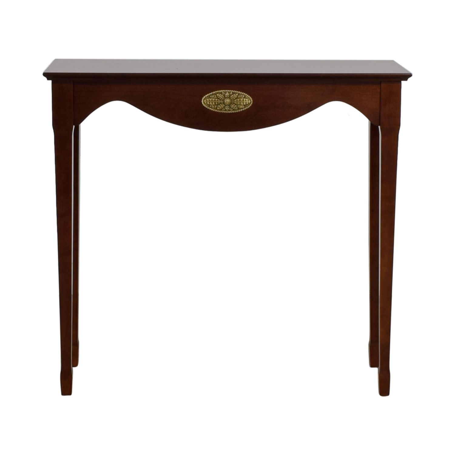 Wood Dovetail Sofa Console nyc