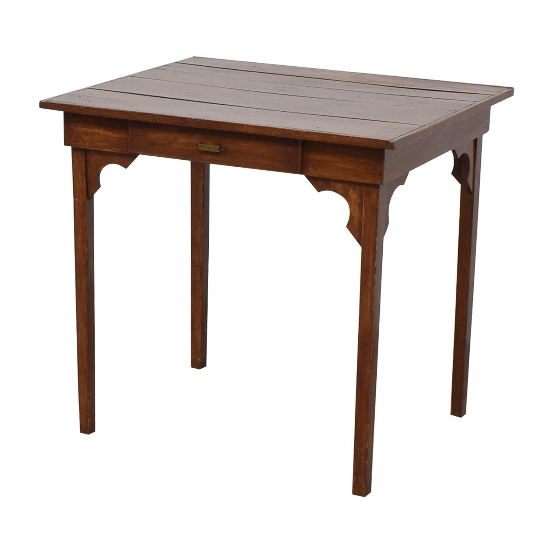 ... Antique Wooden Desk sale ... - 62% OFF - Antique Wooden Desk / Tables