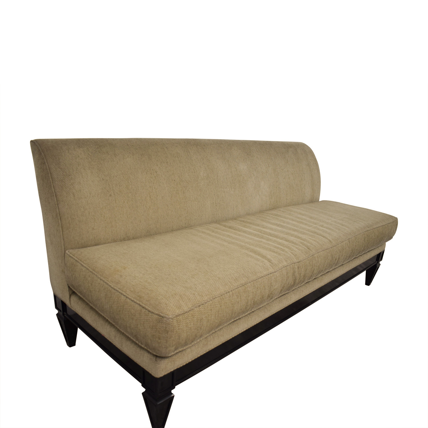 Todd Hase Todd Hase Tan Single Cushion Couch coupon