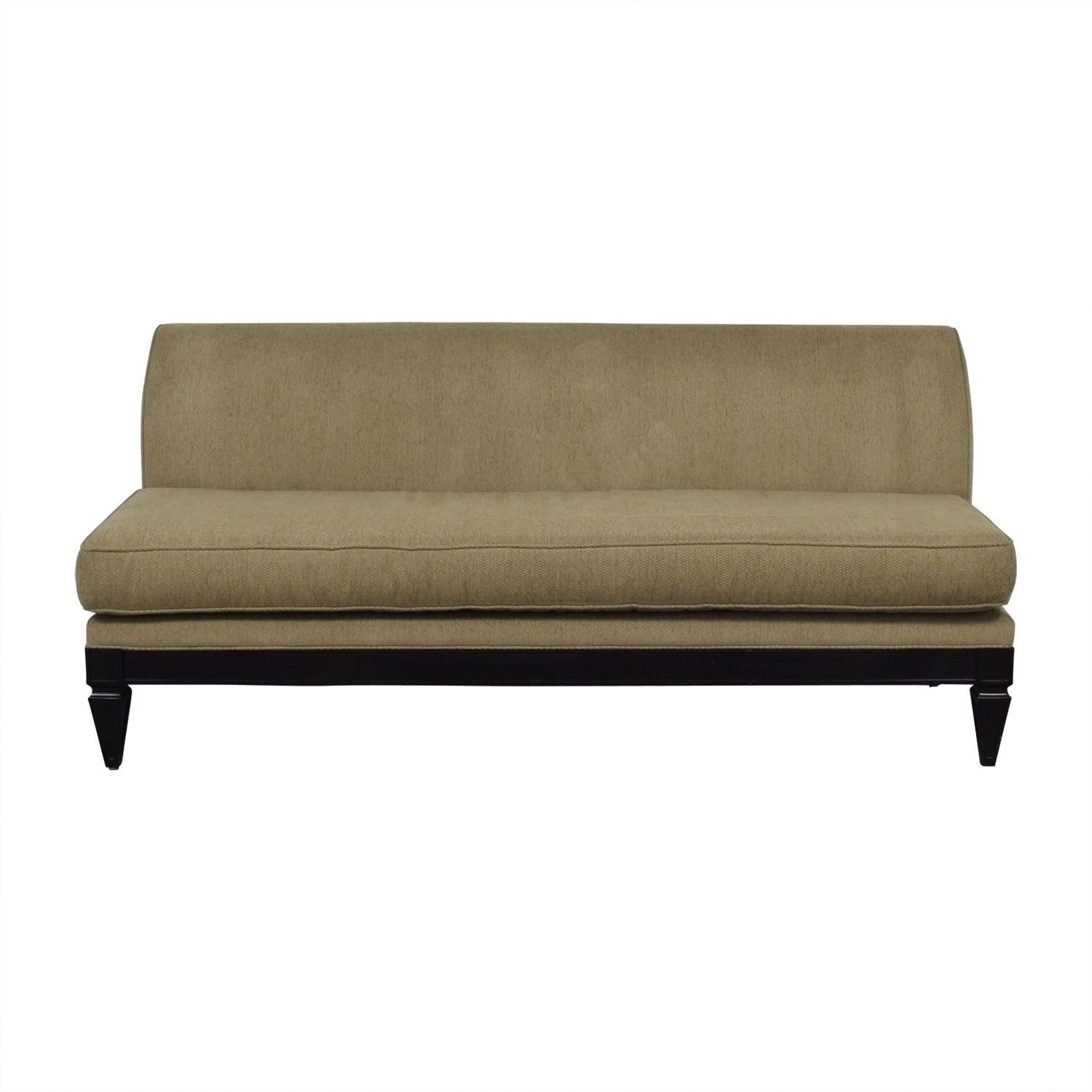Todd Hase Todd Hase Tan Single Cushion Couch