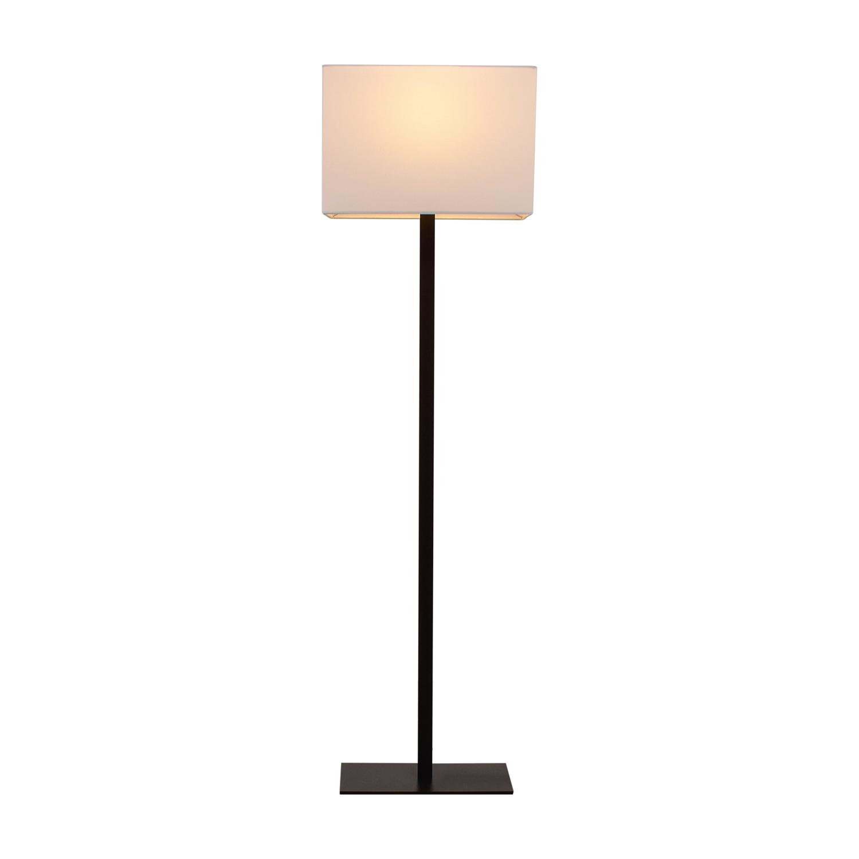 buy CB2 John Floor Lamp Iron CB2 Decor