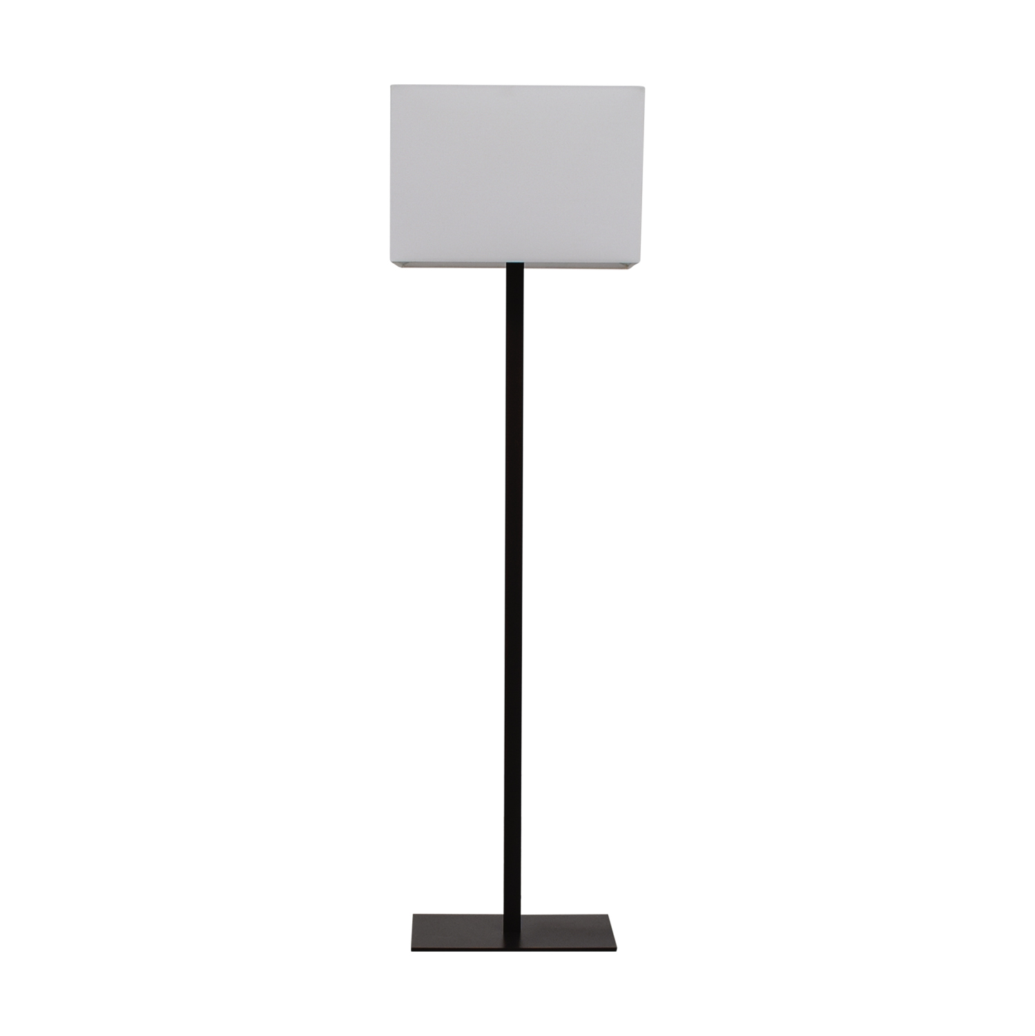 CB2 John Floor Lamp Iron / Decor